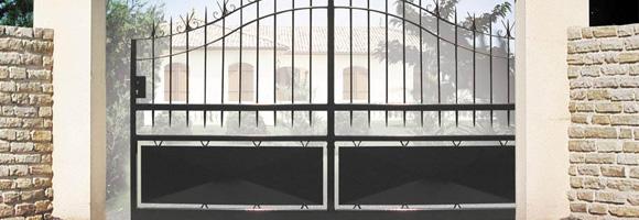 tarif pose portail pour copropri t travaux entretien et r novation. Black Bedroom Furniture Sets. Home Design Ideas